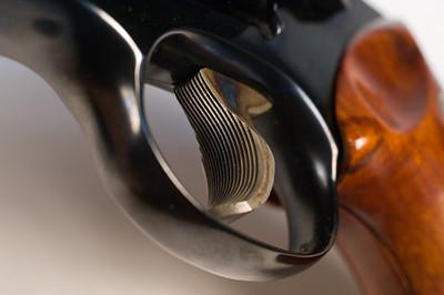 Half-inch forged target trigger - nice and crisp.