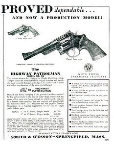 Old ad for the 28-2 revolver.