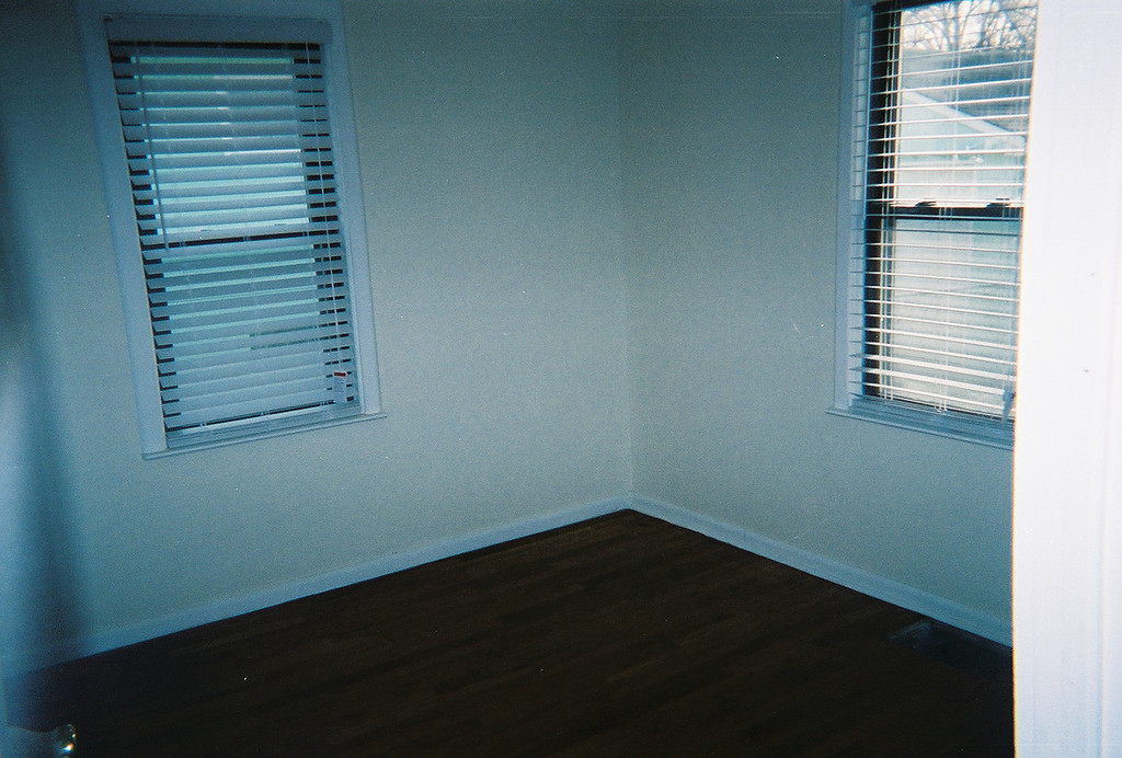 Room stained and drying...
