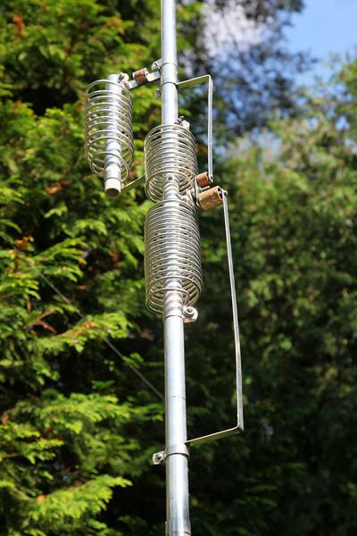 Coil-set of the BUTTERNUT HF6V-X (vertical 6 bands) antenna..