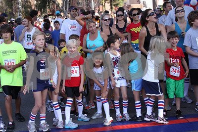 Getting ready for the big race day in Pacific Palisades
