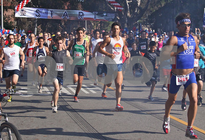 Jim Lubinski #1266 would win the 10K and Andrew Bland #94 would win the 5K