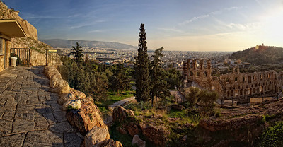 Near The Acropolis, Athens, Greece.