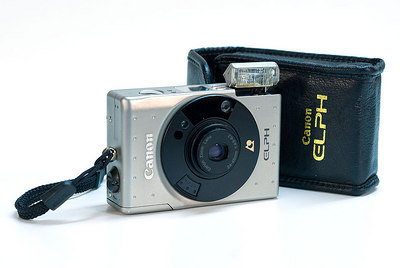 Canon Elph - nice APS pocket camera with magnesium body.