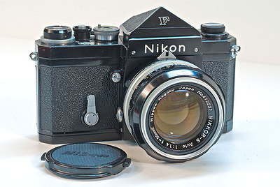 First Nikon purchased in 1965 w/50mm 1.4 lens shown - for around $400 I think