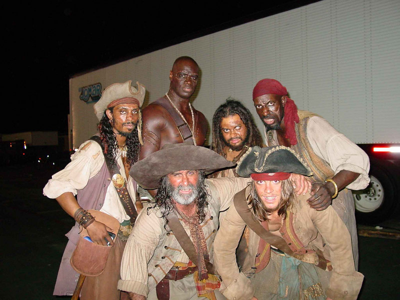 Matt and I with other Barbosa Pirates