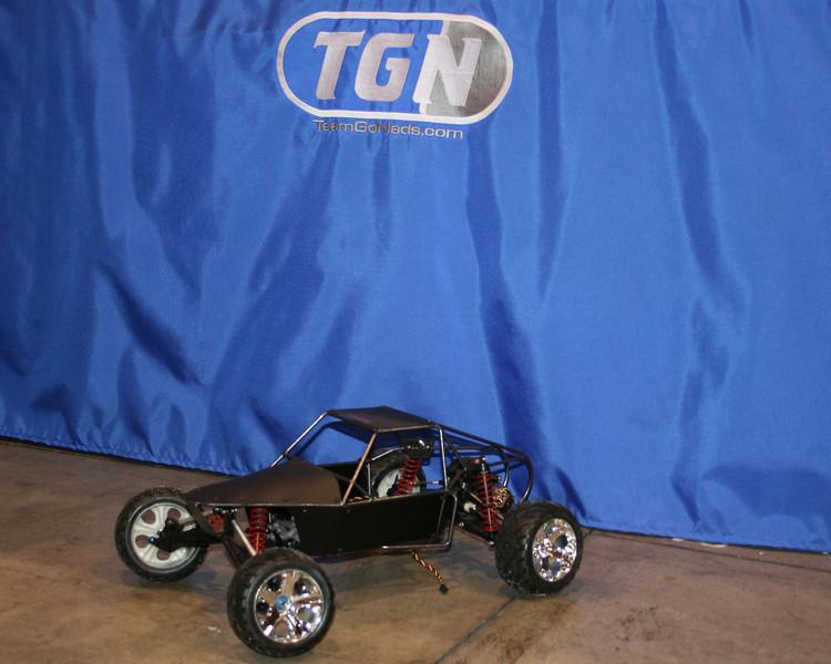 RC4WD sand car.