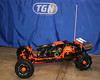 Fast Eddy orange baja. Ed's new carry strap, Craftwerks-RC lighted whip and TGN wing and gas cap.
