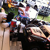 Sir Adam Drake working on his Losi 5IVE-T at Hostile
