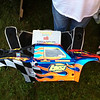 The Losi 5IVE-T body for Adam Drake