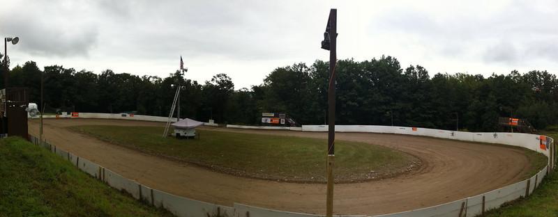The oval at Hostile Racing Bajafest