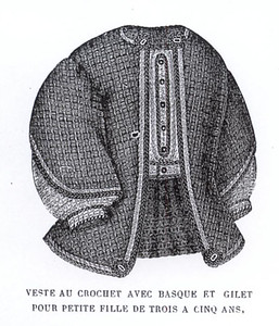 basque vest MI1864crochet4