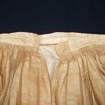 sheer skirt gauging closure