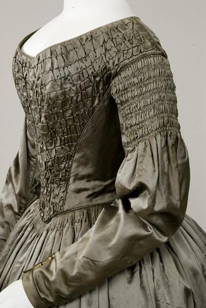 silk bodice
