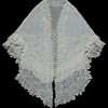 sheer mantle shawl