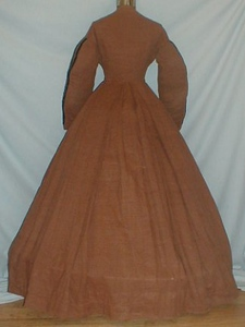 cotton dress back