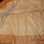 sheer skirt lining