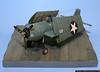 Frederick Seitz<br /> Grumman F4F-4 Wildcat<br /> 1/32 Scale