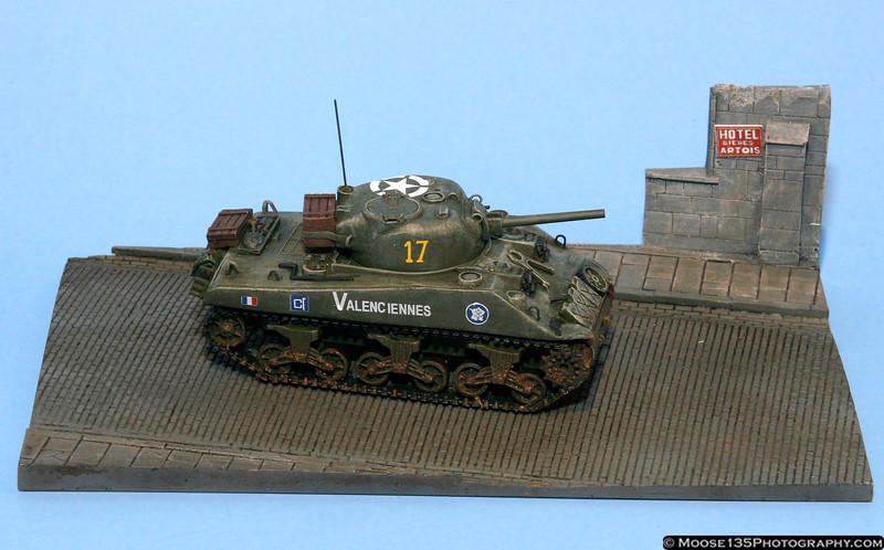 Tim Greeman<br /> M4A2 French Sherman<br /> 1/72 Scale