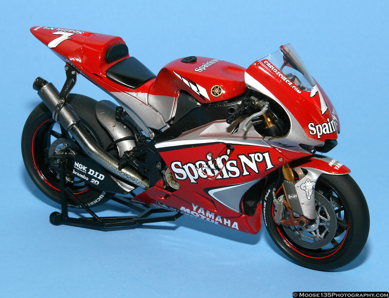 Doc Wiseman<br /> 2001 Yamaha YZR-M1<br /> 1/12 Scale
