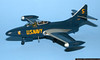 Ron Morini<br /> Grumman F9F-5 Panther - Blue Angels<br /> 1/48 Scale