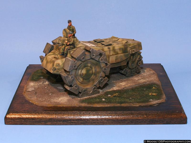Richard Marotta - 1/35 Alkett-Raeumgeraet Mine Clearing Vehicle