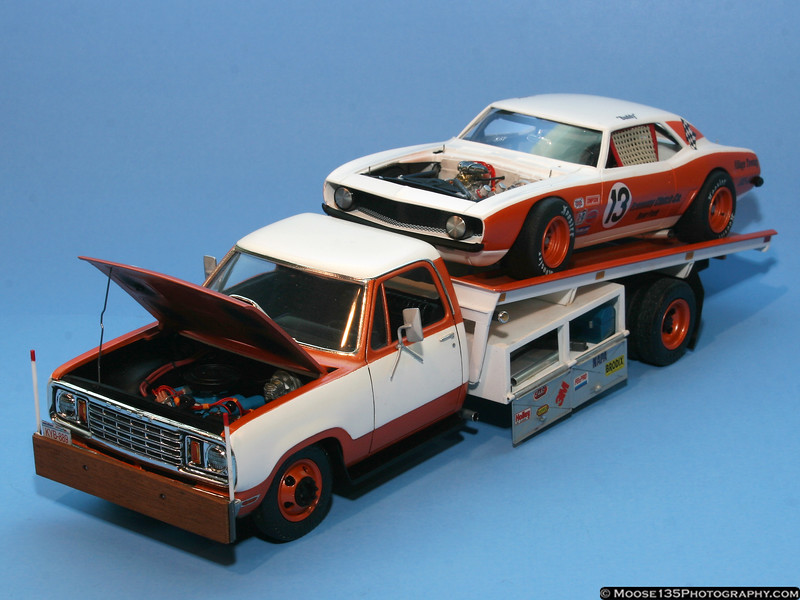 Will Seagraves - 1/25 Dodge D300 Hauler and Race Car