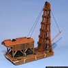 Ed Mostowicz - 1/87 Pile Driver Barge
