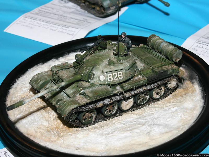 1/48 Soviet T-54 Tank