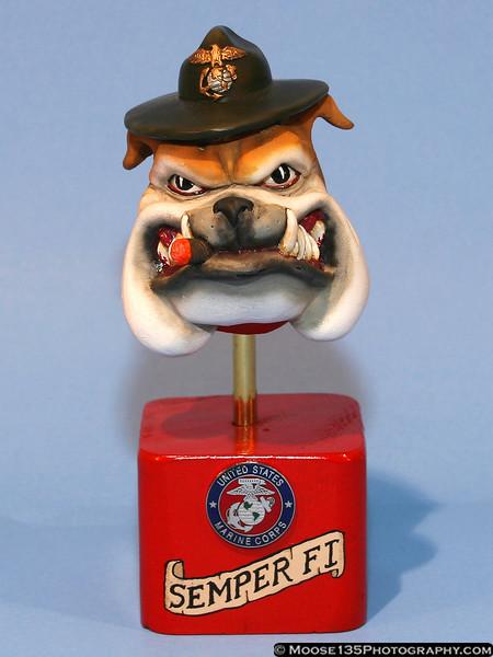 "Tommy Kortman - 1/4 ""Mac"" USMC Bulldog Bust"
