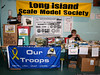 Raffle Table and Donation Box for troops in Iraq