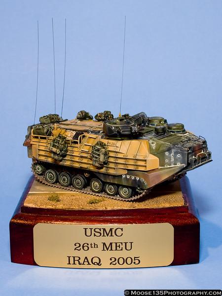 Rich Marotta - 1/72 USMC AAV7 Pa-1, 26th MEU, Iraq 2005