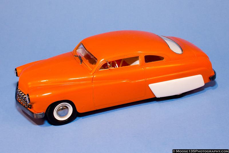 """Doc Wiseman - 1/24 1949 Mercury """"Creamsickle"""""""