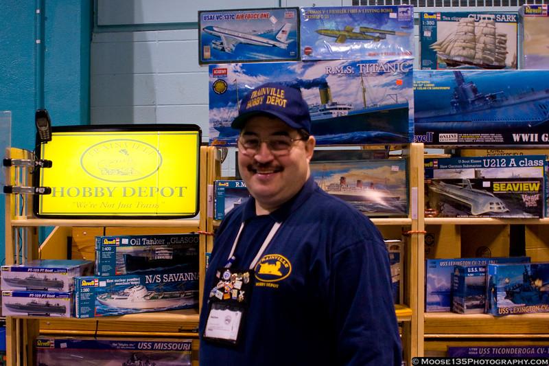 RepLIcon Vendor Joel Berse of Trainville Hobby Depot