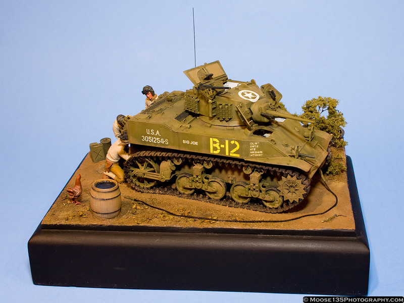 Tony Fradkin - 1/35 M5A1 Stuart