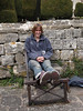 Heather in the stocks