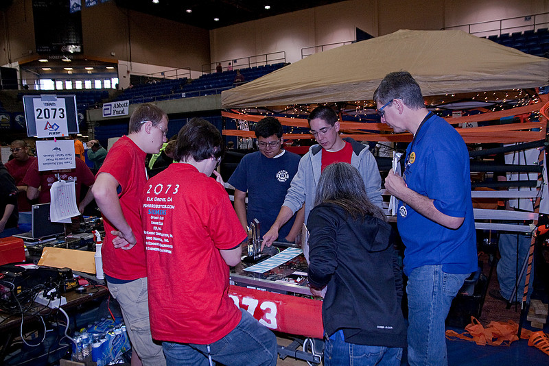 Being able to explain your Robot's design to the Judges is one of the most important aspects of this competition.