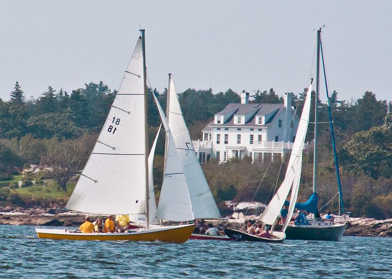 The Commodore's Race, Alliquippa Phippsburg Maine