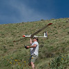 the moment of truth for this 1970's era RC Sailplane