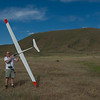 """After the flight...<br /> <br /> The """"Crow"""" gliding hill in Boise, Idaho in the background.  You will often see paragliders out here too."""