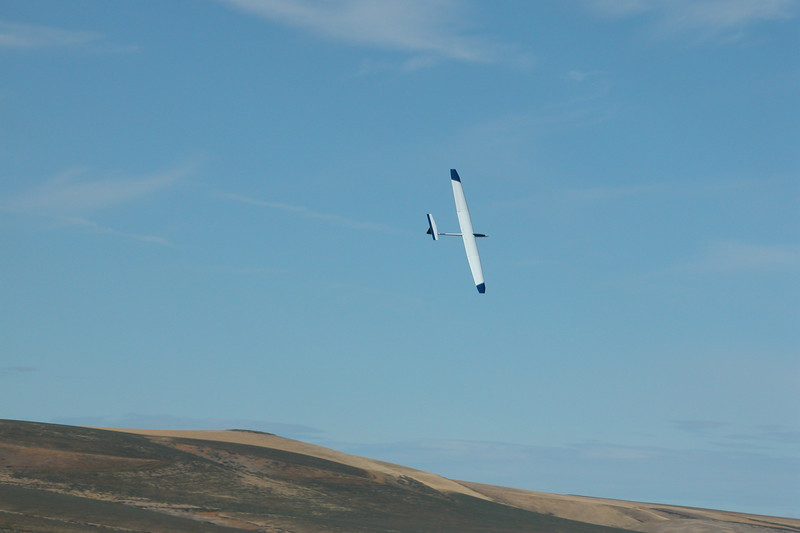 Airtronics Legend in flight at Eagle Butte.  Photo by Mike Goldston