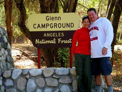 West Fork San Gabriel River Hike to Glenn Camp, Azusa CA October 11, 2009