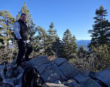 Seven Summits of Big Bear Series: Delamar Mountain [6] Christmas Day 2013