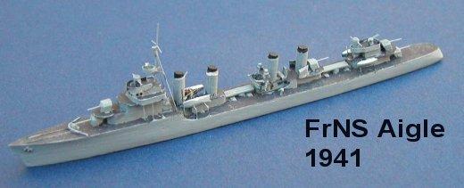 France WW2 Destroyers