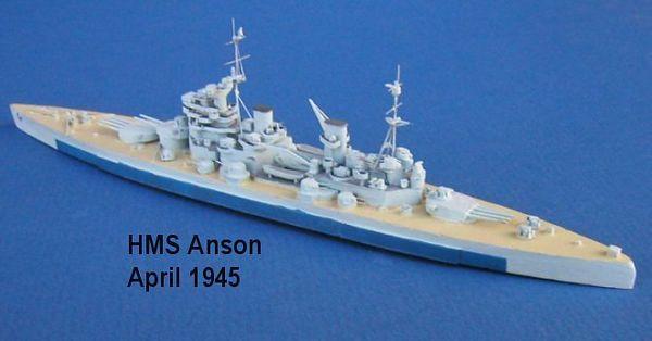 Great Britain WW2 Battleships