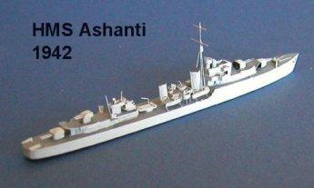 Great Britain WW2 Destroyers
