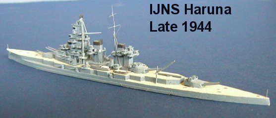 Japan WW2 Battleships