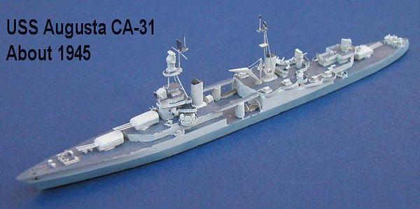 USA WW2 Cruisers