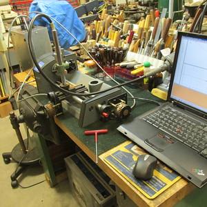 My CNC rose engine machine.
