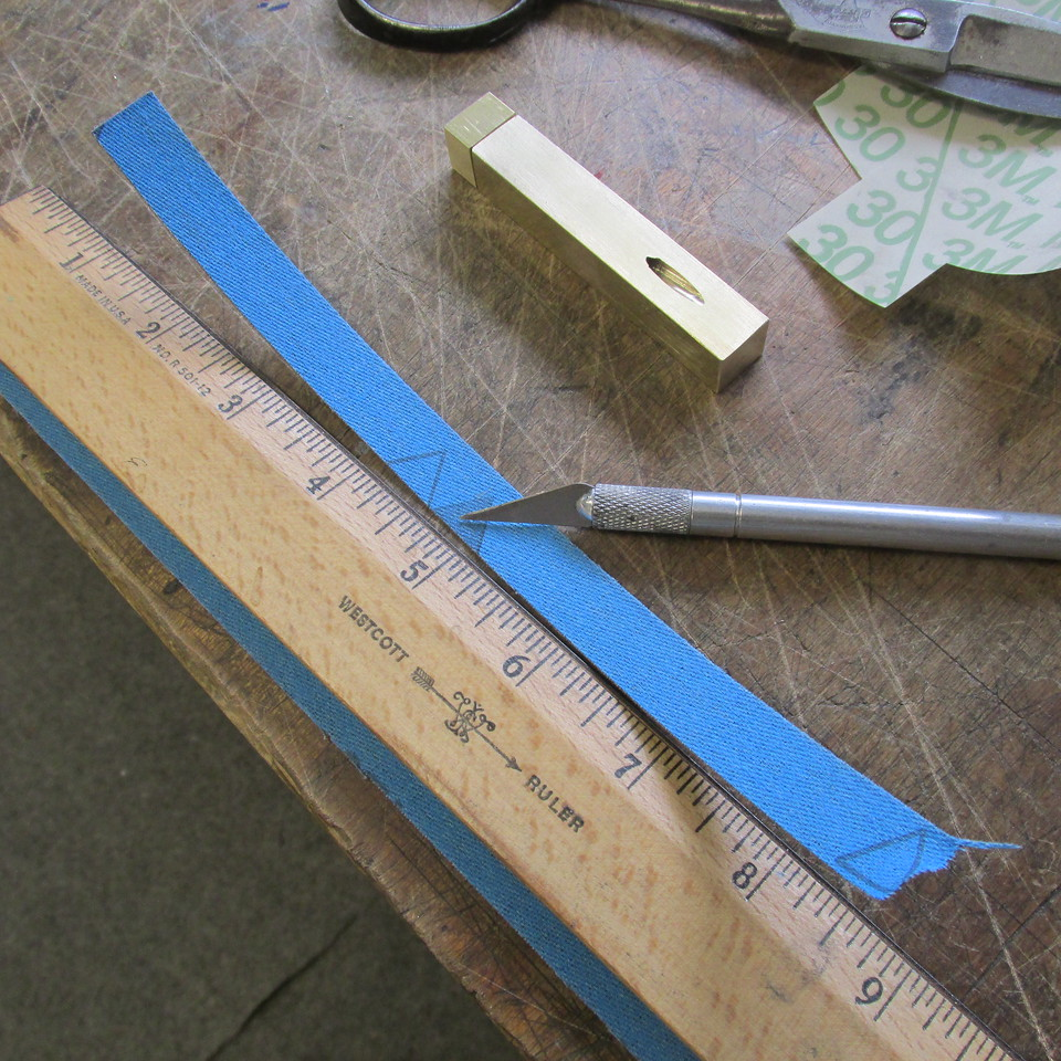 Shop roll sized in width ready to cut to required length using master guage.
